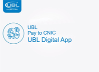 UBL Pay to CNIC